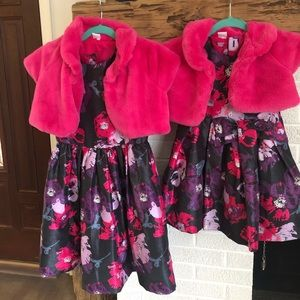 Gymboree Special Occasion Matching Dress Lot